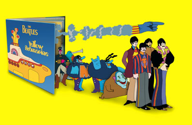 the yellow submarine book. Black Bedroom Furniture Sets. Home Design Ideas